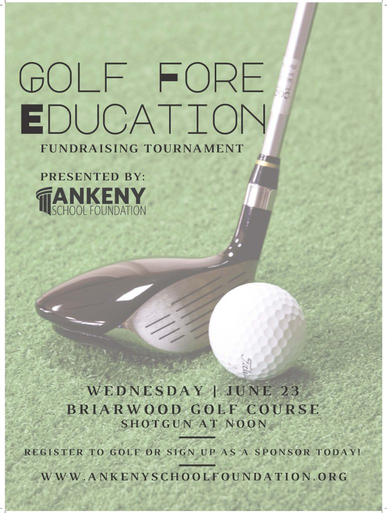 Golf Fore Education Poster 2021